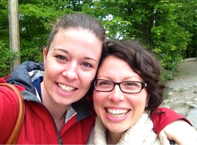 Sarah & Gaby at Camp Kawartha, September 2014