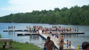 Swimming Docks at Christie Lake